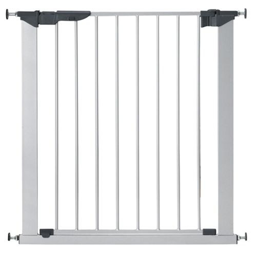 Babydan Premier Pressure Indicator Safety Stair Gate, Silver