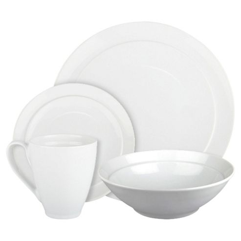 Denby Coupe 16 Piece, 4 Person Boxed Dinner Set