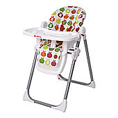 Red Kite Feed Me Deli Highchair, Juicy Apples