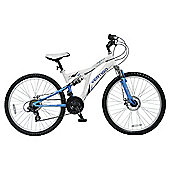 "Vertigo Mont Blanc 24"" Girls' Dual Suspension Mountain Bike"