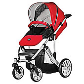 Britax B Smart 4 Pushchair, Venetian Red