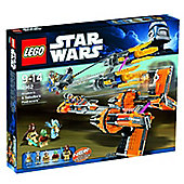 LEGO Star Wars Anakin's and Sebulba's Podracers 7962