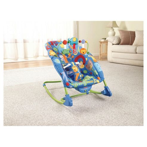 Fisher-Price Precious Planet Deluxe Infant To Toddler Rocker