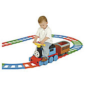 Thomas & Friends Battery Operated Train Ride-On & 22 Piece Set