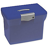 Pierre Henry Freestyle A4 Suspension Box File, Light Blue