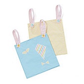Mothercare Butterfly Fields Cot Pockets