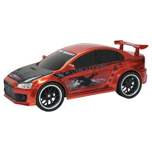New Bright Mitsubishi RC Toy Car Lancer Evo 1:16 Scale