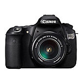 Canon EOS 60D Digital SLR Camera, Black, with EF-S 17-85 mm f/4-5.6 IS USM Lens Kit