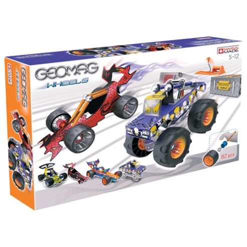 Geomag 62 Piece Hot Rods Set