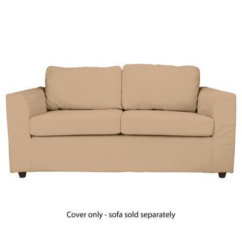 Ashley Loose Cover For Medium Sofa, Sand