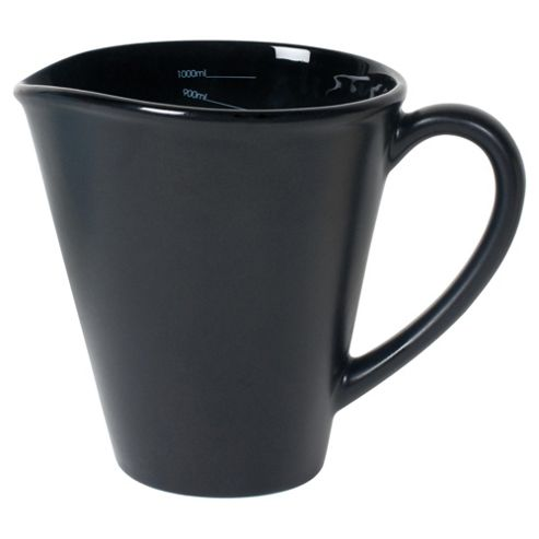 Nigella Lawson Living Kitchen 1L Measuring Jug, Black