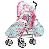 Obaby Atlas V2 Stroller Bundle, Cottage Rose