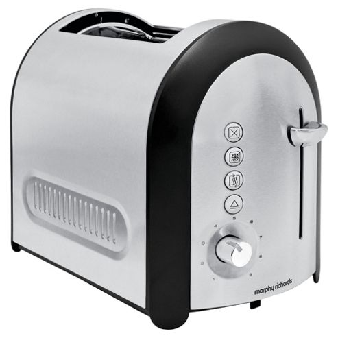 Morphy Richards 77730 Meno 2 Slice Brushed Toaster
