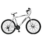 "Vertigo K2 26"" Front Suspension Mountain Bike 18"" Silver - Mens"