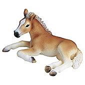 Schleich Haflinger Foal, Lying