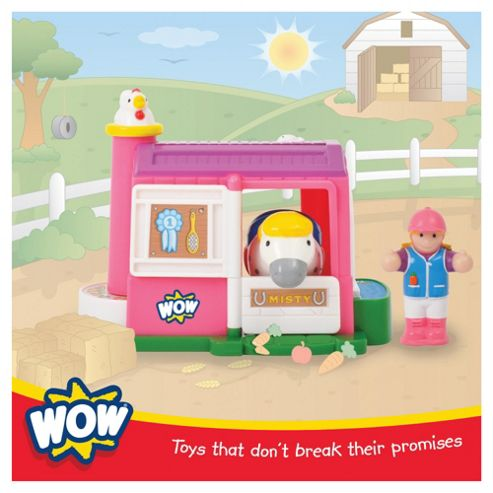 WOW Toys Misty 'n' Molly Toy Stable Playset