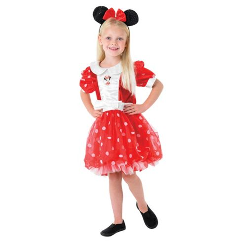 Deluxe Red Minnie Mouse Puff Ball (5/6 years)
