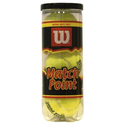 Wilson Match Point Tennis Balls 3pk