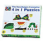 Hungry Caterpillar 4 in 1 Jigsaw Puzzle
