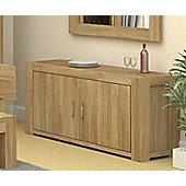 Baumhaus CMR02B Atlas Solid Oak Sideboard
