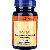 Higher Nature B Vital 30 Veg Tablets