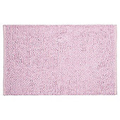 Tesco Chenille Loop Mat Sweet Pink