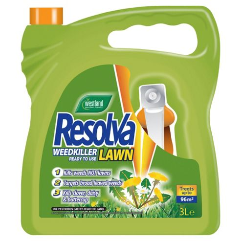Westland Resolva 24H Ready to Use Weedkiller 3 Litre