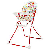 Obaby Winnie the Pooh Highchair, Red