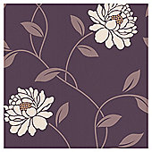 Dulux Wallpaper Camille Mulberry 1 Roll