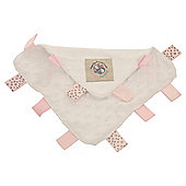 Baby Sense Taglet Pink Security Blanket Comforter