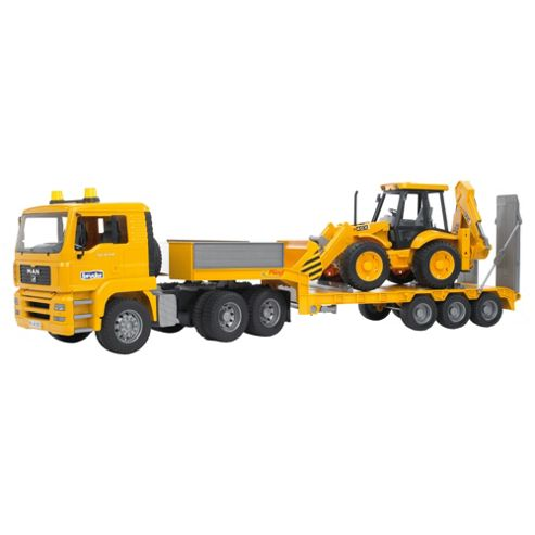 Man Tga Truck & JCB Loader Construction Toy