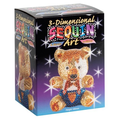 3D Sequin Art Teddy