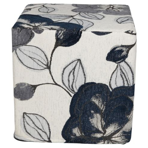 Amelie Cube Navy Floral