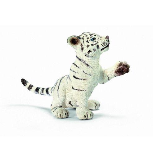 Schleich Tiger Cub Playing White