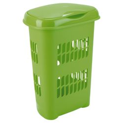 Laundry hamper, green