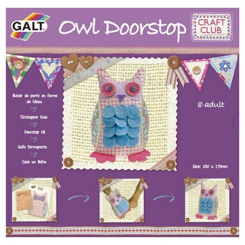 Craft Club Owl Doorstop