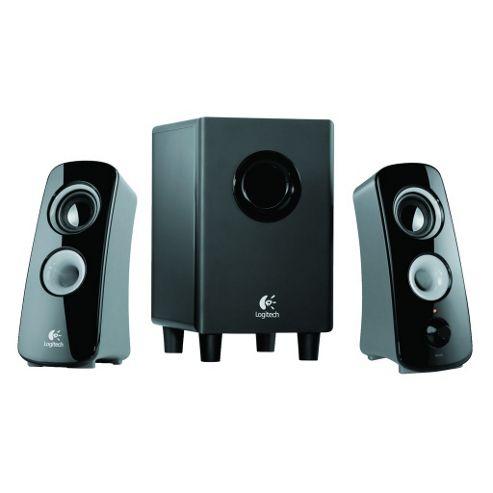 Logitech Z323 2.1 Speaker System Black