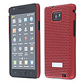 Samsung Metal Look Case Samsung Galaxy SII Red