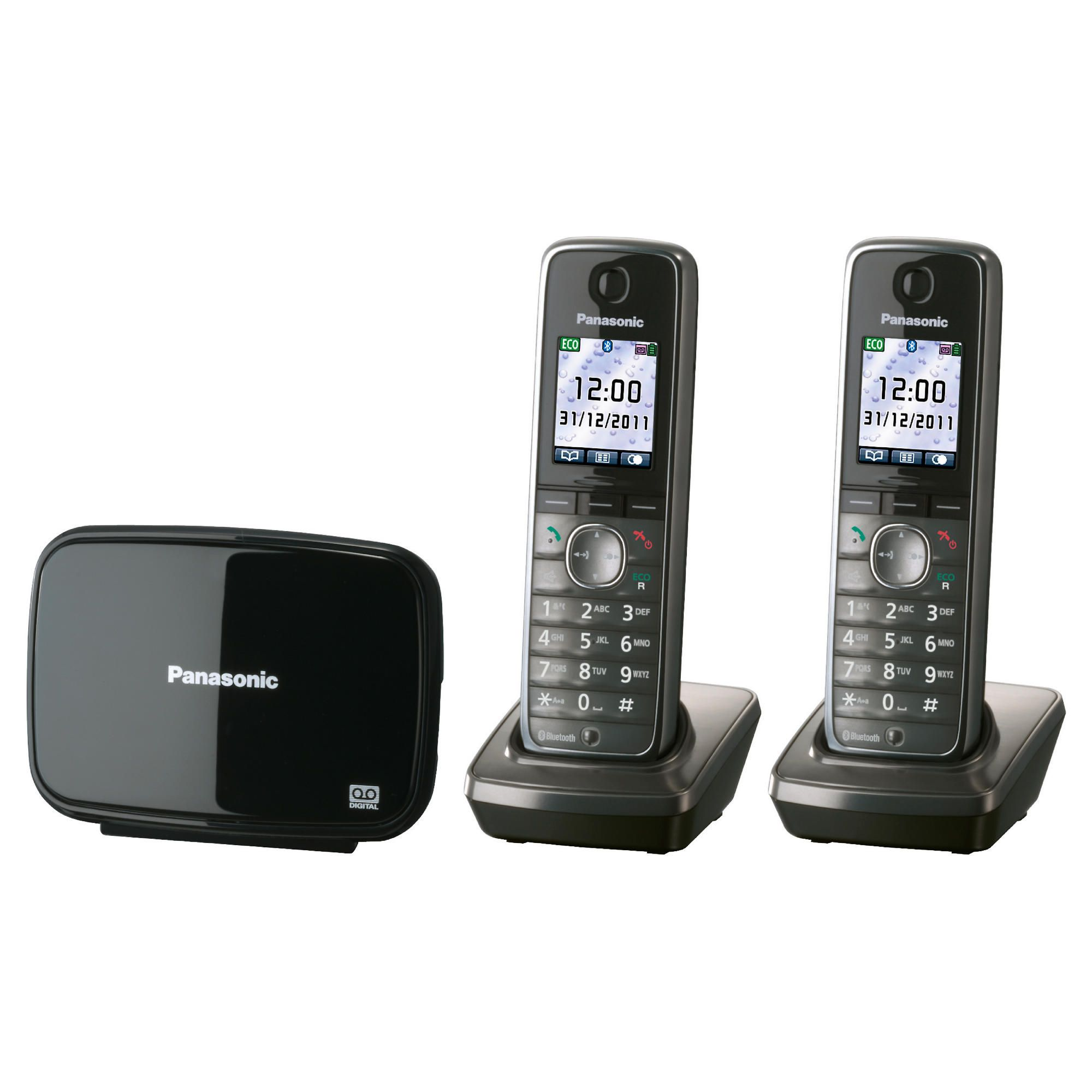 Panasonic KX-TG8622EM DECT cordless Telephone – Set of 2