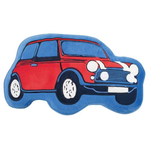 Tesco Kids Retro Car Cushion