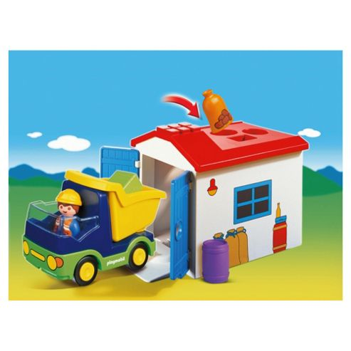 Playmobil 123 Truck with Garage