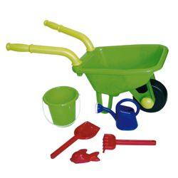 Toy Wheelbarrow and Accessories