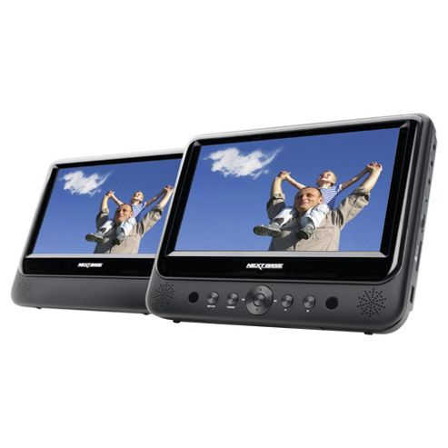 Nextbase SDV49AM 9 inch Twin Screen Portable DVD Player