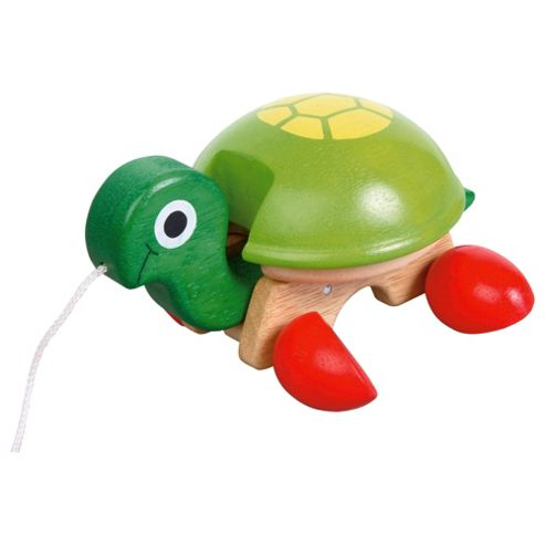 Pull Along Tortoise Wooden Toy