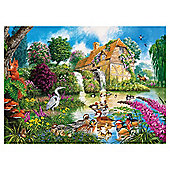 Games The Old Watermill 1000 Pieces Jigsaw Puzzle