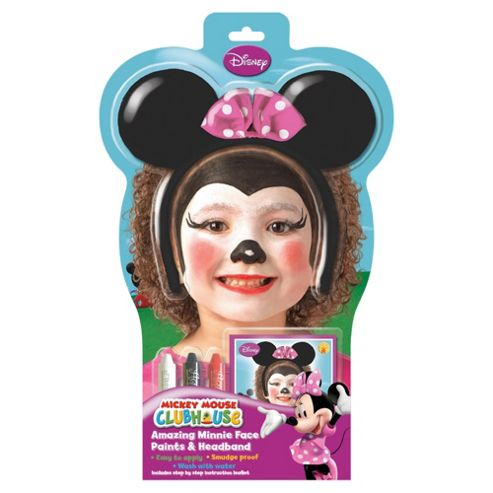 Minnie Mouse Face Painting Set