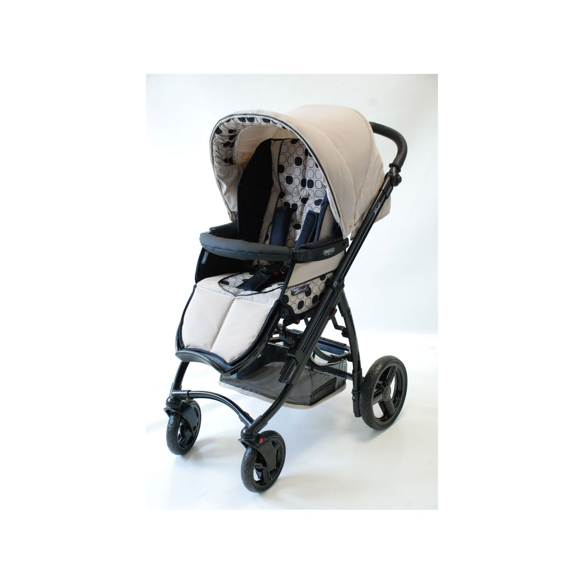 Bebecar Ip-Op black Pushchair Parchment at Tesco Direct