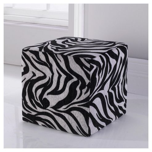 Animal Cube Black Zebra.