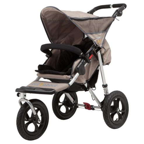 Out 'n' About V2 Nipper 360, Single 3 wheeler pushchair, Camel