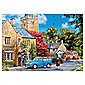Gibsons Milkmans Round 4X500 Pieces Jigsaws